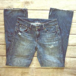 Banana Republic Jeans Classic Boot Cut Distressed